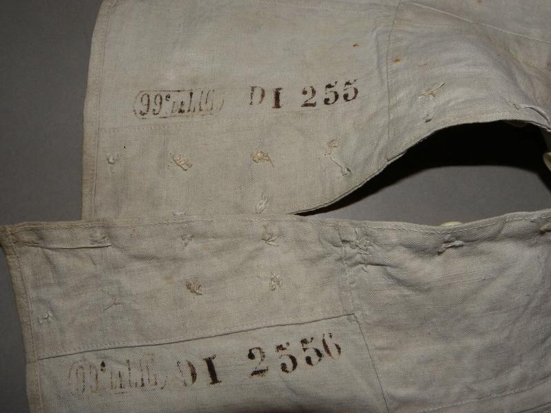 paire de guetres infanterie Mle 1867 . A annuler . Changement de support . Merci  Guetre13