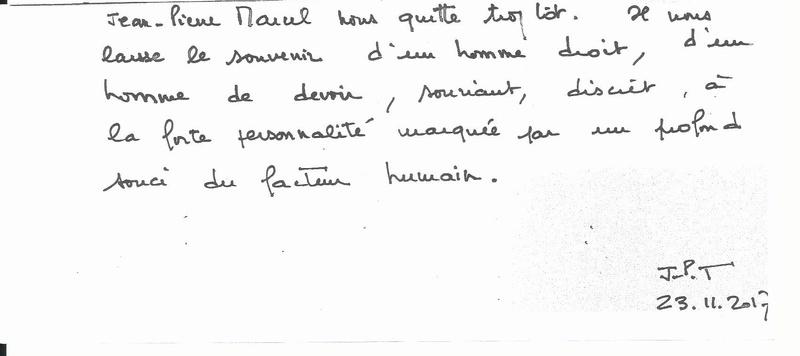 Hommage à l'Adjudan-Chef Jean-Pierre MARCEL , ancien combattant d'Algérie en AFN . Jena-p10