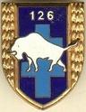 (N°06)Décorations militaires officielles de Manuel ALVAREZ , ancien du 126ème Régiment d'Infanterie de Brive-la-Gaillarde et du 6ème Régiment d'Infanterie en Algérie en Afrique Française du Nord . Insign14