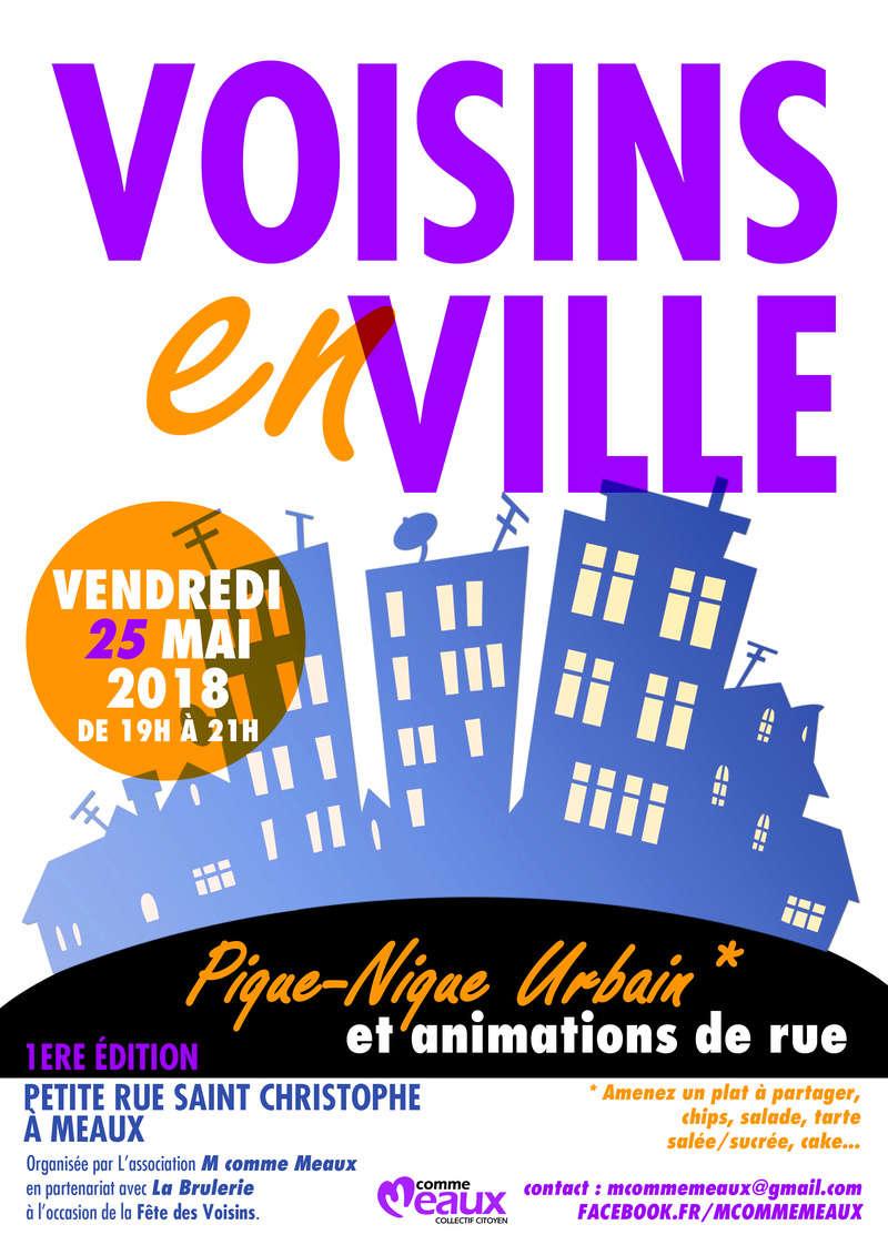 VOISINS EN VILLE, le 25 mai 2018 en centre Ville. Fyte_d10