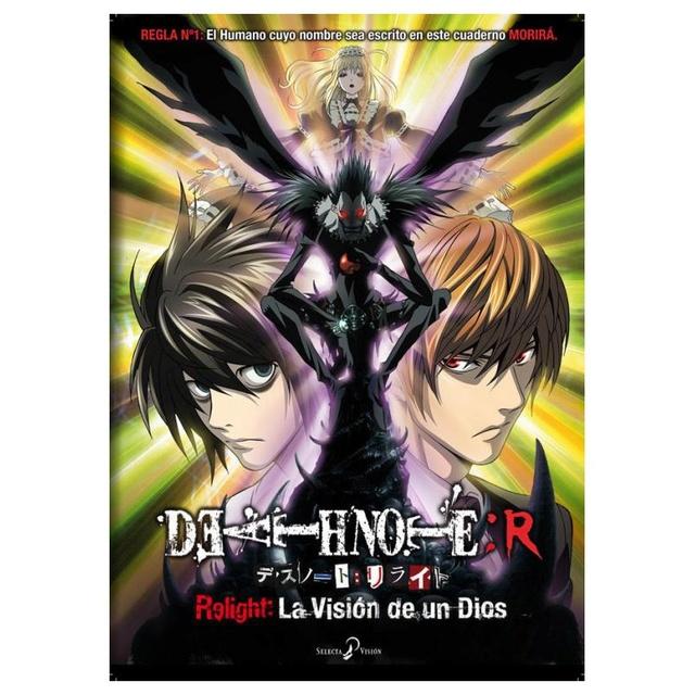 [ANIME] Death Note Re-Light (La visión de un Dios) disponible en Netflix. Death-11