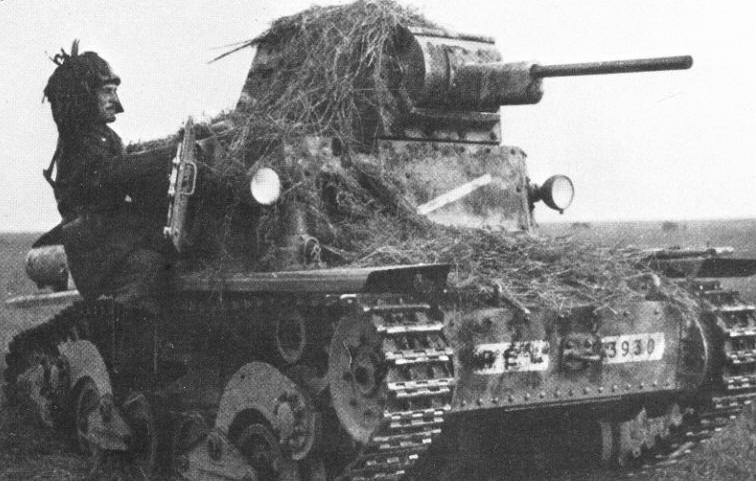 Comment simuler la boue appliquée sur un char pour le camoufler ?  6710