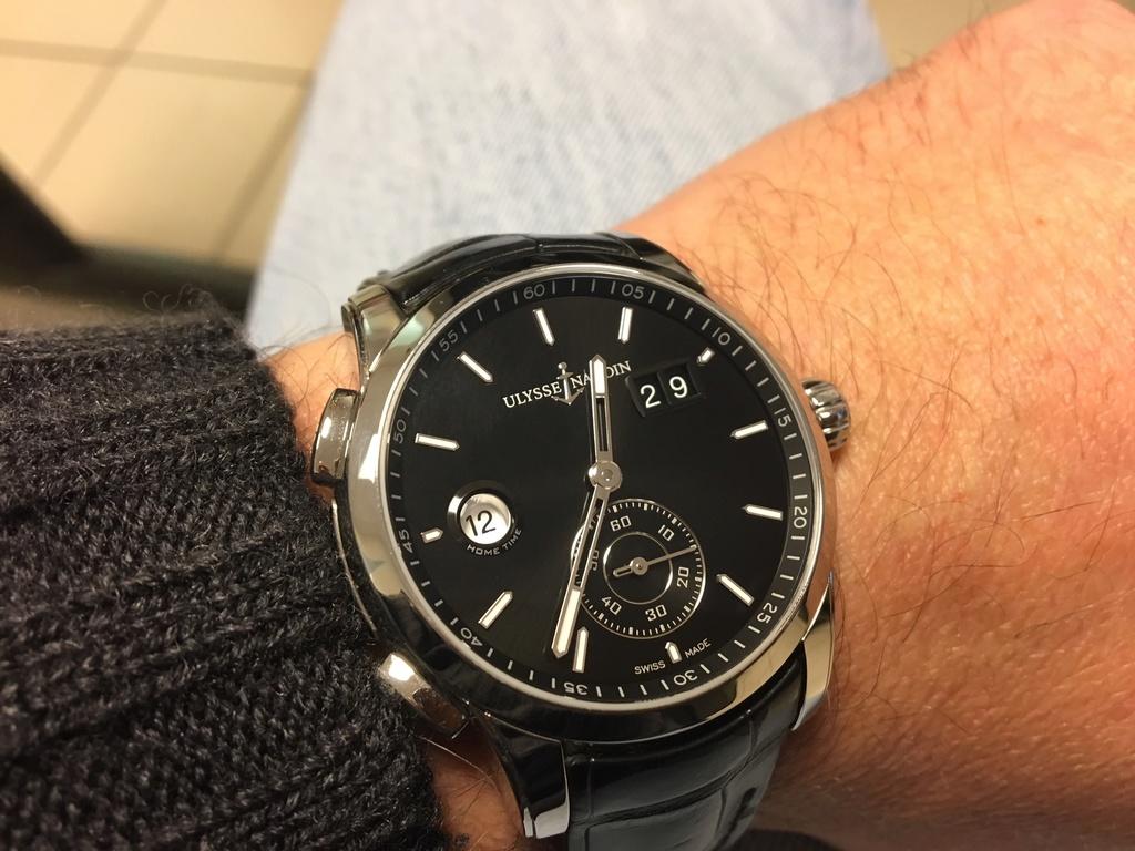 La montre du vendredi 29 décembre 2017 U10