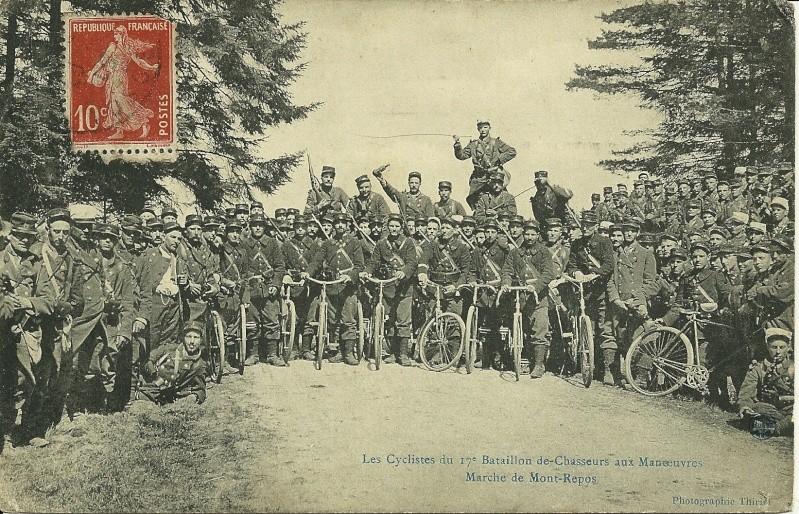 Cyclistes  du 17 BC  Numar142
