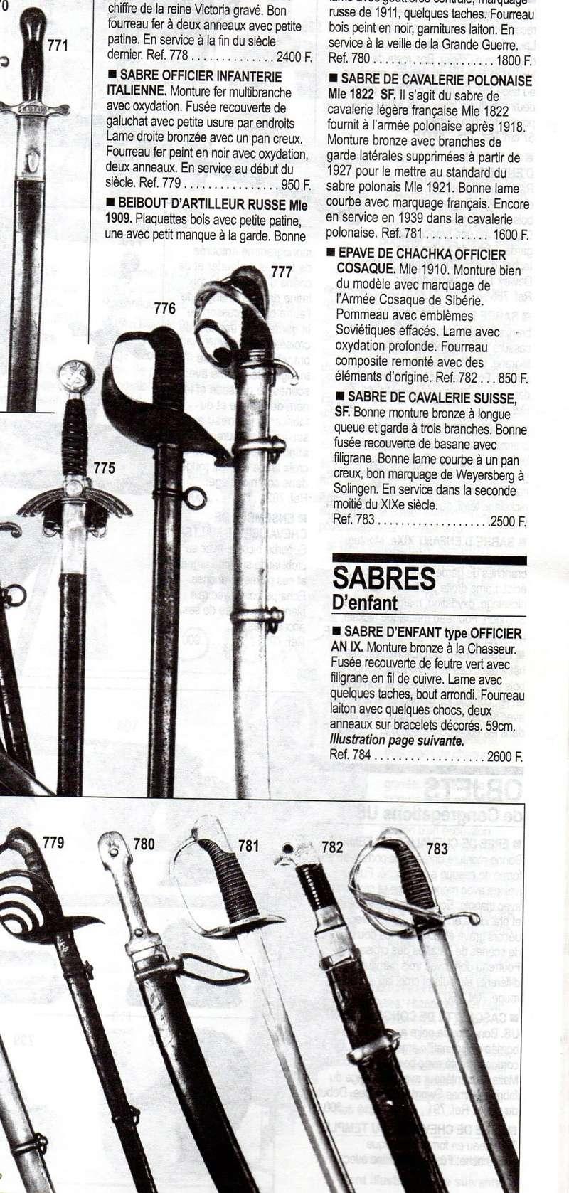 un sabre 1822 modifié ? Dr03410