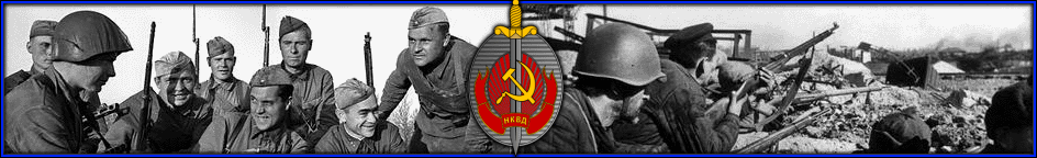 269th NKVD Rifle Regiment 10th NKVD VV Division Banner10