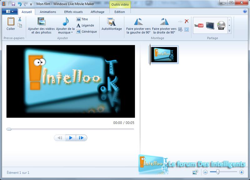 Movie Maker Enregistrer une vidéo WMV 1_copy10