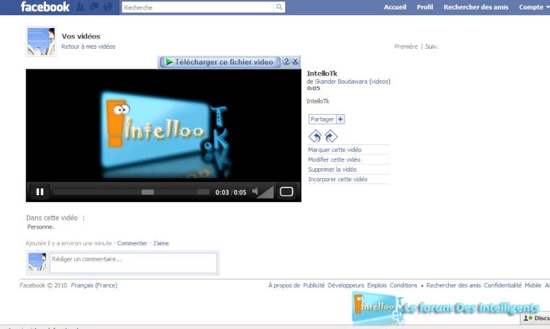 Mettre une vidéo sur facebook 611