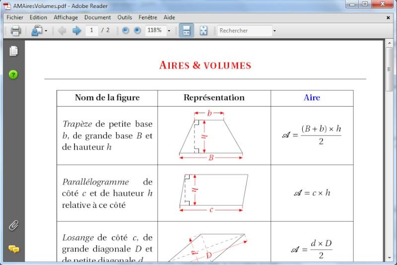 Math- Fiche Brevet- Aires et Volumes. Untitl10