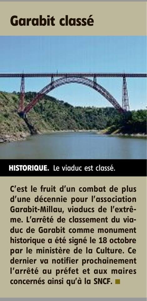 Le viaduc de Garabit, Patrimoine mondial de l'UNESCO ? 23244010