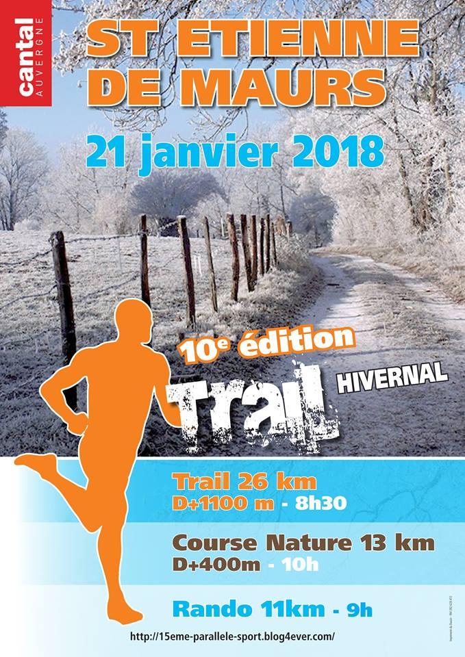 Trail hivernal à St Etienne de Maurs 23795310