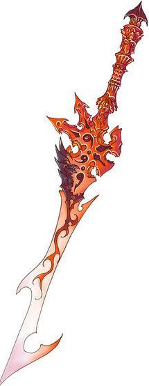 Espada Flamejante Sa12
