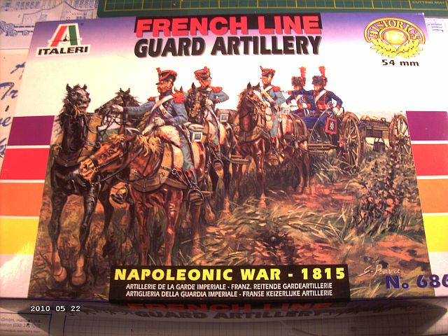 Baubericht Italerie French Line Guardartillery - 1/35 177