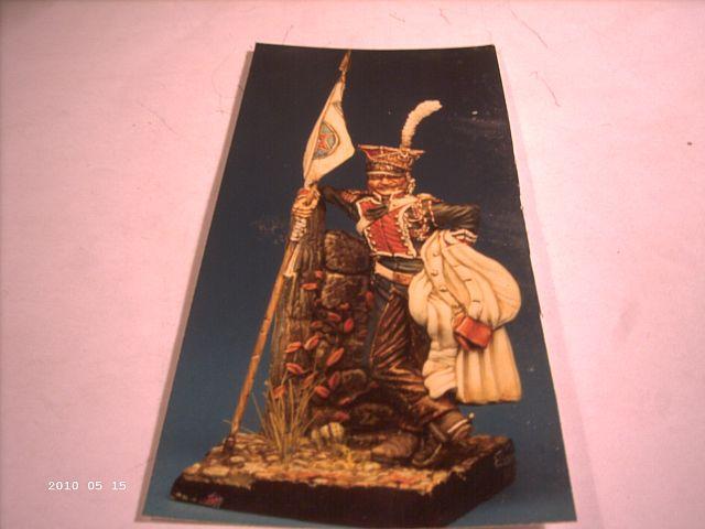 Napoleonischer Lanzenreiter - 70mm Figur 517