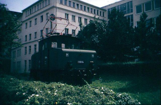 """E 69 04 """"Johanna"""" 1986 in München E69_0410"""