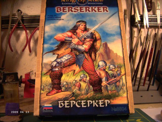 Berserker - Rollenspielfigur von Zvezda - FERTIG P124