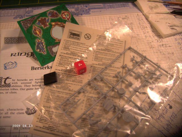 Berserker - Rollenspielfigur von Zvezda - FERTIG P225