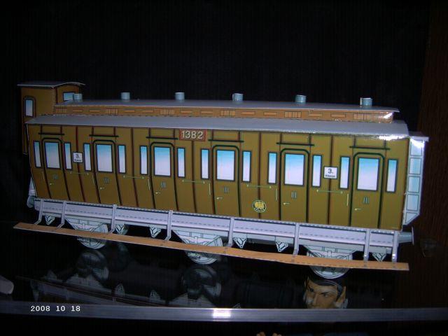 Preussischer Abteilwagen W110