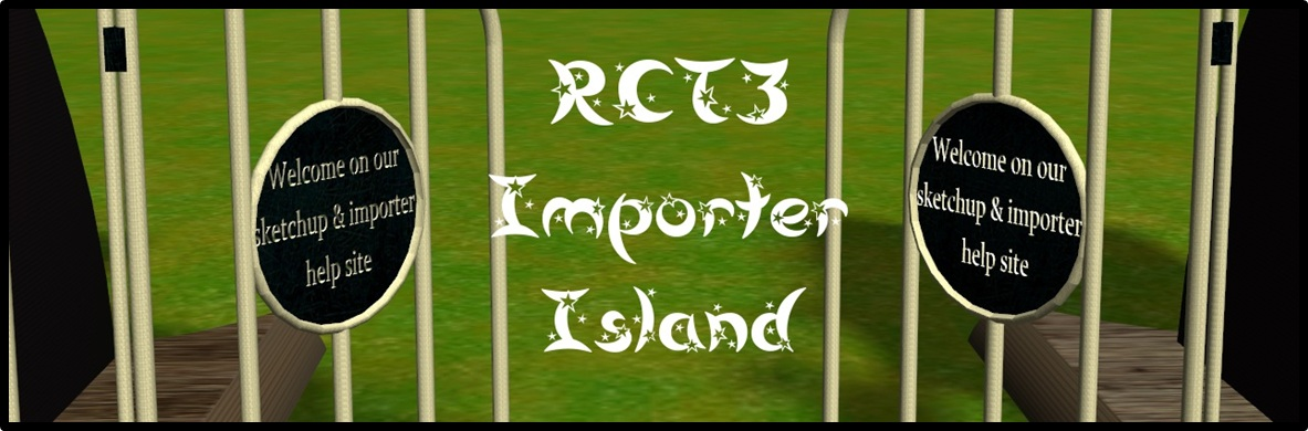 RCT3 importer island