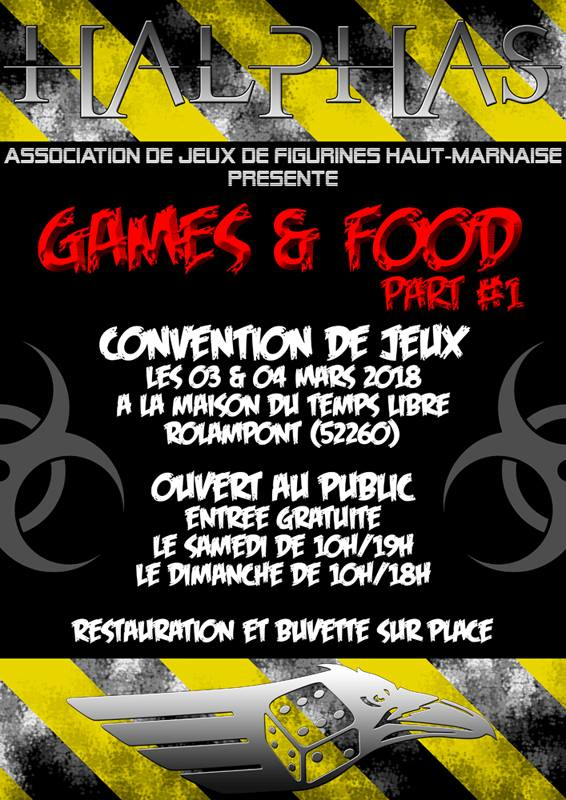 Convention du club Halphas (52)-03/04 mars 2018 22449610