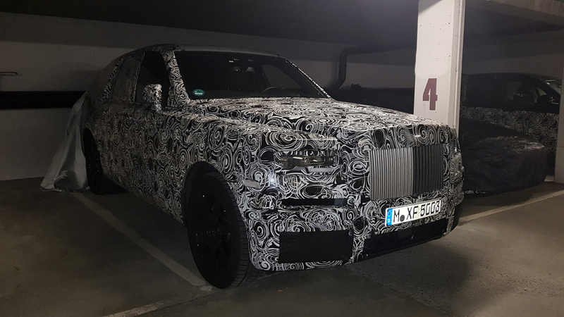 2017 - [Rolls-Royce] SUV Cullinan - Page 9 22256311