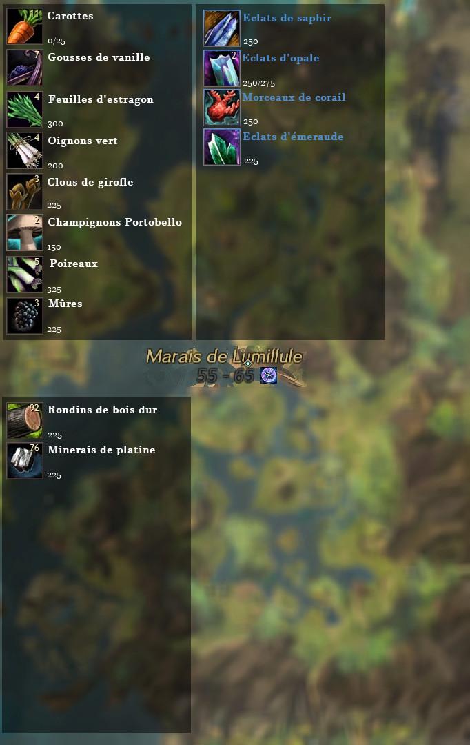 Guide de récolte de matériaux  Marais10