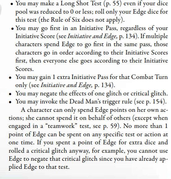 Règle de la chance Edge210