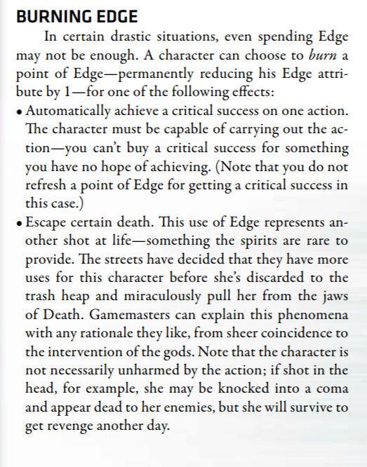 Règle de la chance Edge510
