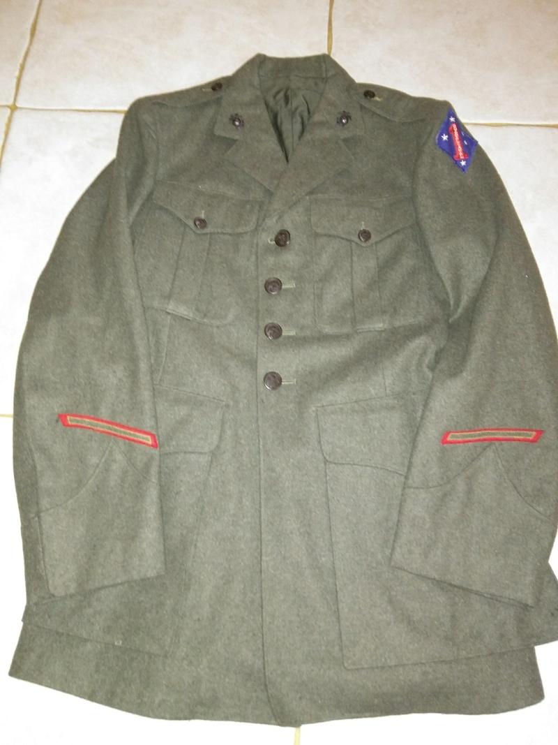 Veste green forest USMC 1ere division de marines Img_2031