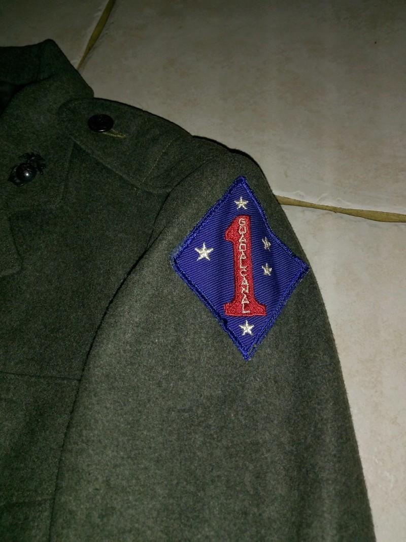 Veste green forest USMC 1ere division de marines Img_2032