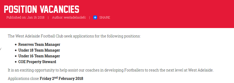 Position vacancies  Screen11