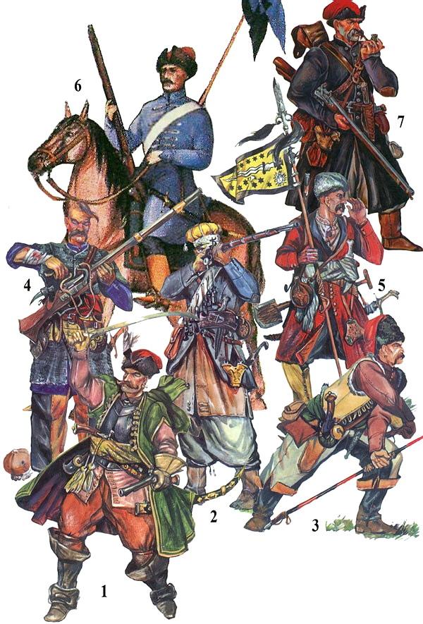 [Inspiration] Le Grand Déluge (Polonais , Tatars , Cosaques , Russes , Ottomans Circa 1650) Cosaqu12