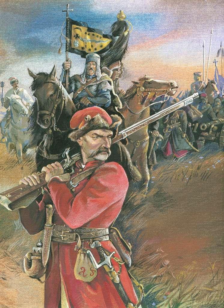 [Inspiration] Le Grand Déluge (Polonais , Tatars , Cosaques , Russes , Ottomans Circa 1650) Cosaqu13