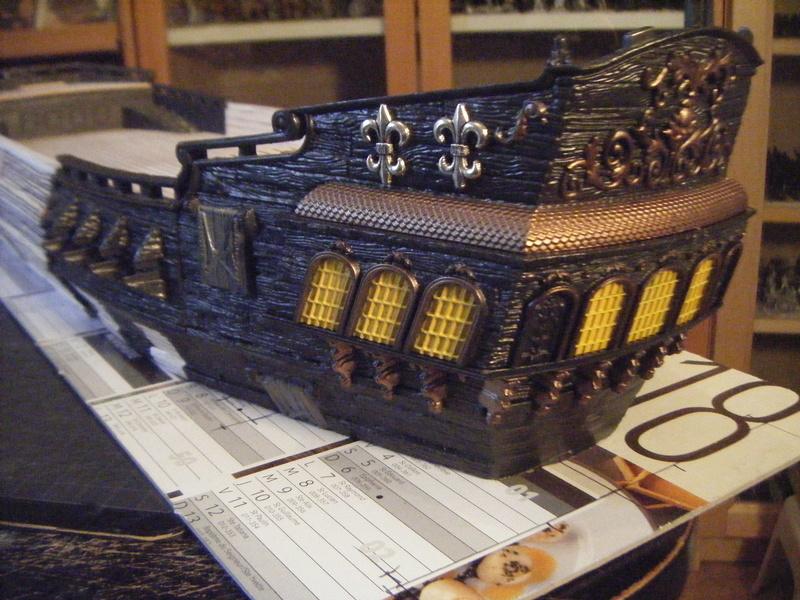 [FLIBUSTE 28MM] Un navire à partir d'un Black Pearl MegaBlock Dscf9912