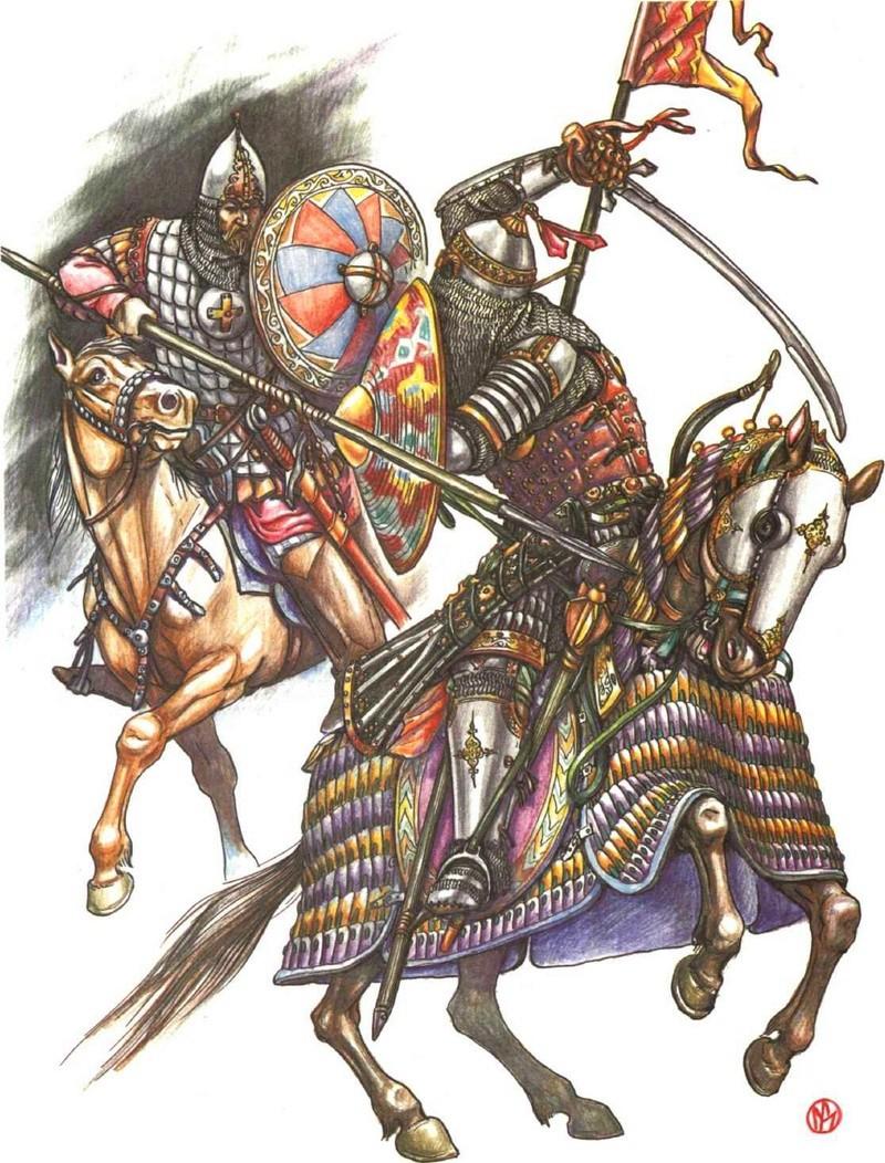 [INSPIRATION] Les Mongols , Tamerlan , Babur Gh10