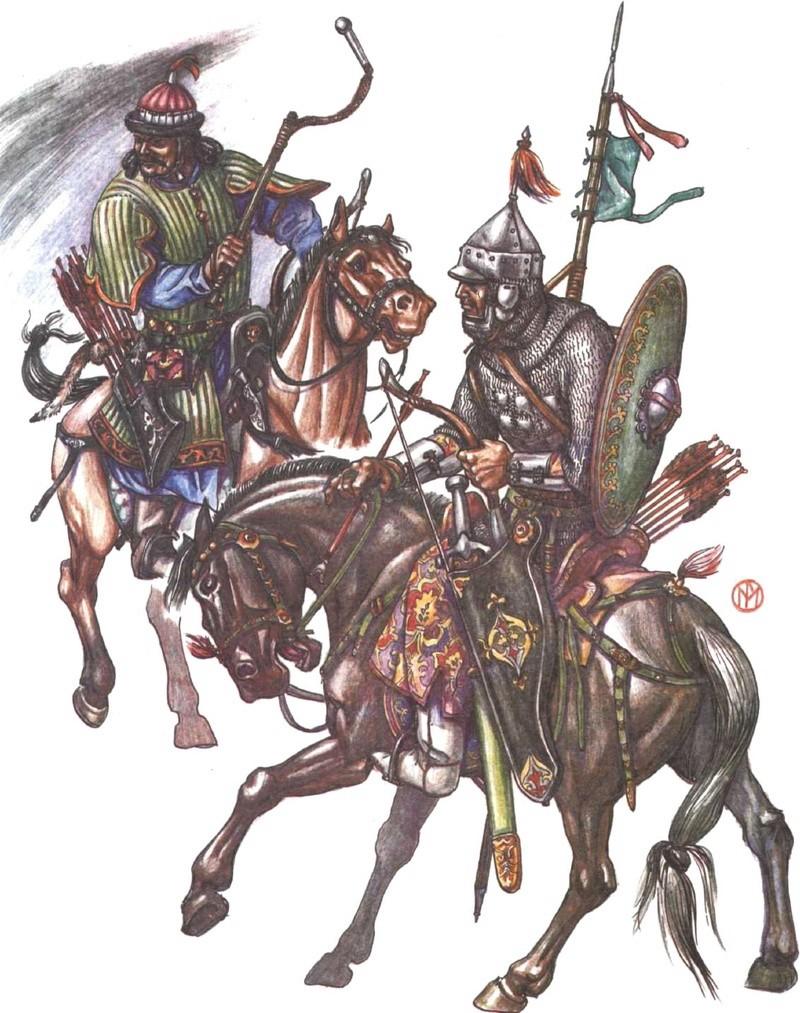 [INSPIRATION] Les Mongols , Tamerlan , Babur Gh_cav10