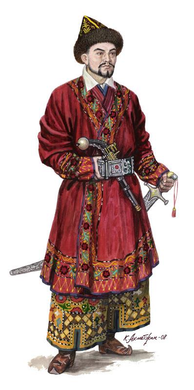 [Inspiration] Le Grand Déluge (Polonais , Tatars , Cosaques , Russes , Ottomans Circa 1650) Khazak14