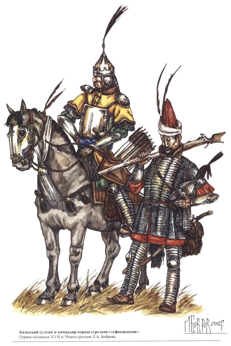 [Inspiration] Le Grand Déluge (Polonais , Tatars , Cosaques , Russes , Ottomans Circa 1650) Khazak19