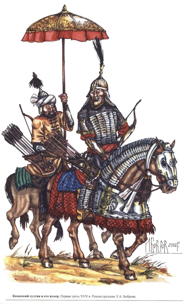 [Inspiration] Le Grand Déluge (Polonais , Tatars , Cosaques , Russes , Ottomans Circa 1650) Khazak22
