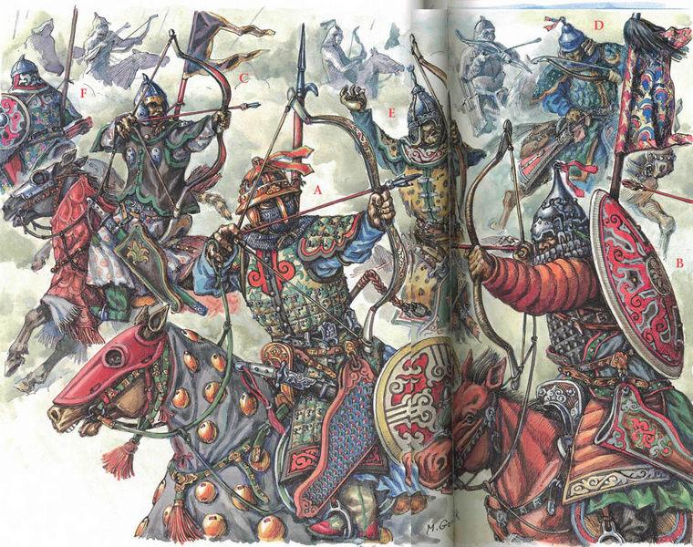 [INSPIRATION] Les Mongols , Tamerlan , Babur Mongol13