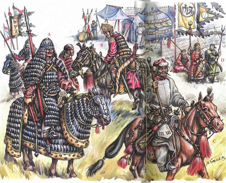 [INSPIRATION] Les Mongols , Tamerlan , Babur Mongol14