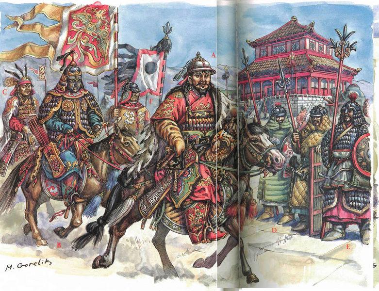 [INSPIRATION] Les Mongols , Tamerlan , Babur Mongol15