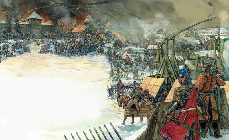 [INSPIRATION] Les Mongols , Tamerlan , Babur Mongol16