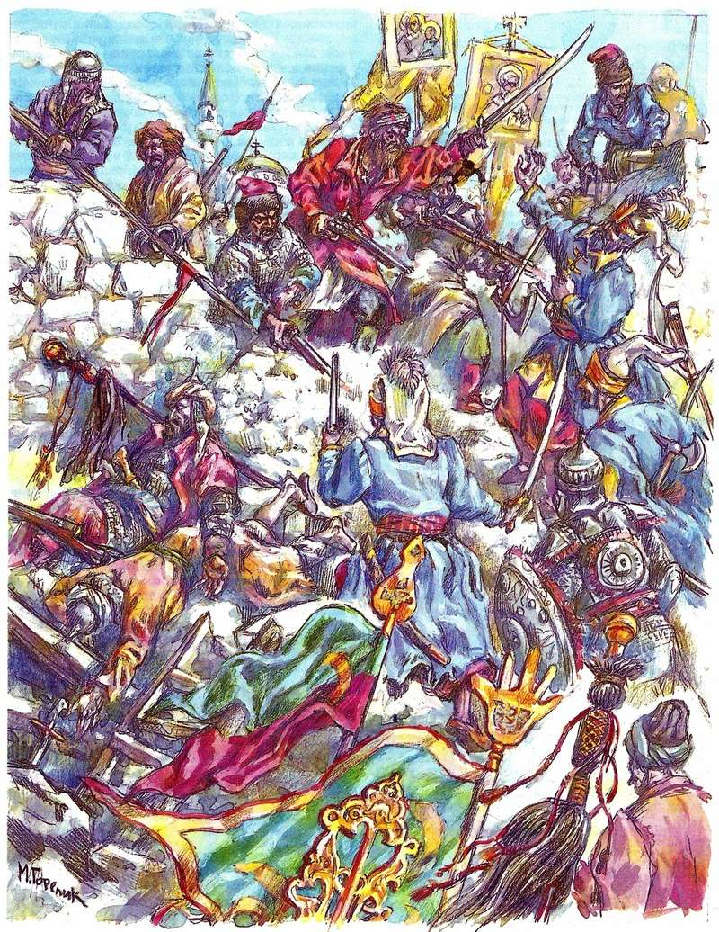 [Inspiration] Le Grand Déluge (Polonais , Tatars , Cosaques , Russes , Ottomans Circa 1650) Ottoma13