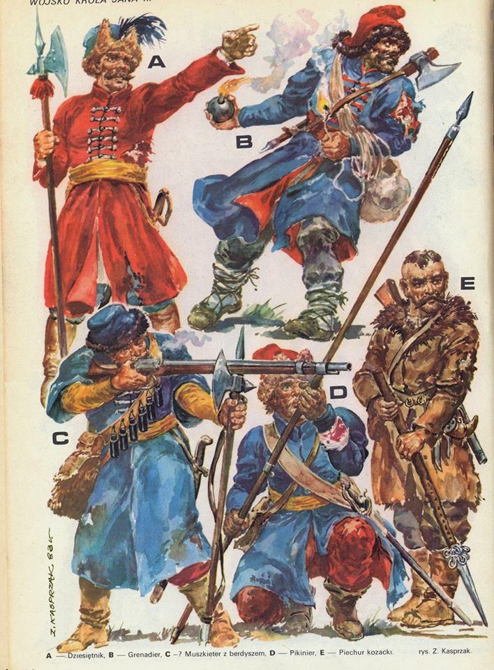 [Inspiration] Le Grand Déluge (Polonais , Tatars , Cosaques , Russes , Ottomans Circa 1650) Planch13