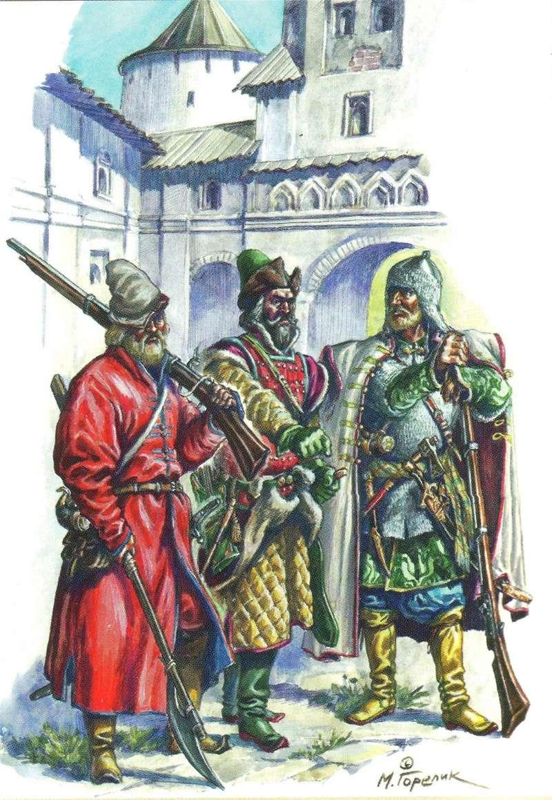 [Inspiration] Le Grand Déluge (Polonais , Tatars , Cosaques , Russes , Ottomans Circa 1650) Rus_gu10