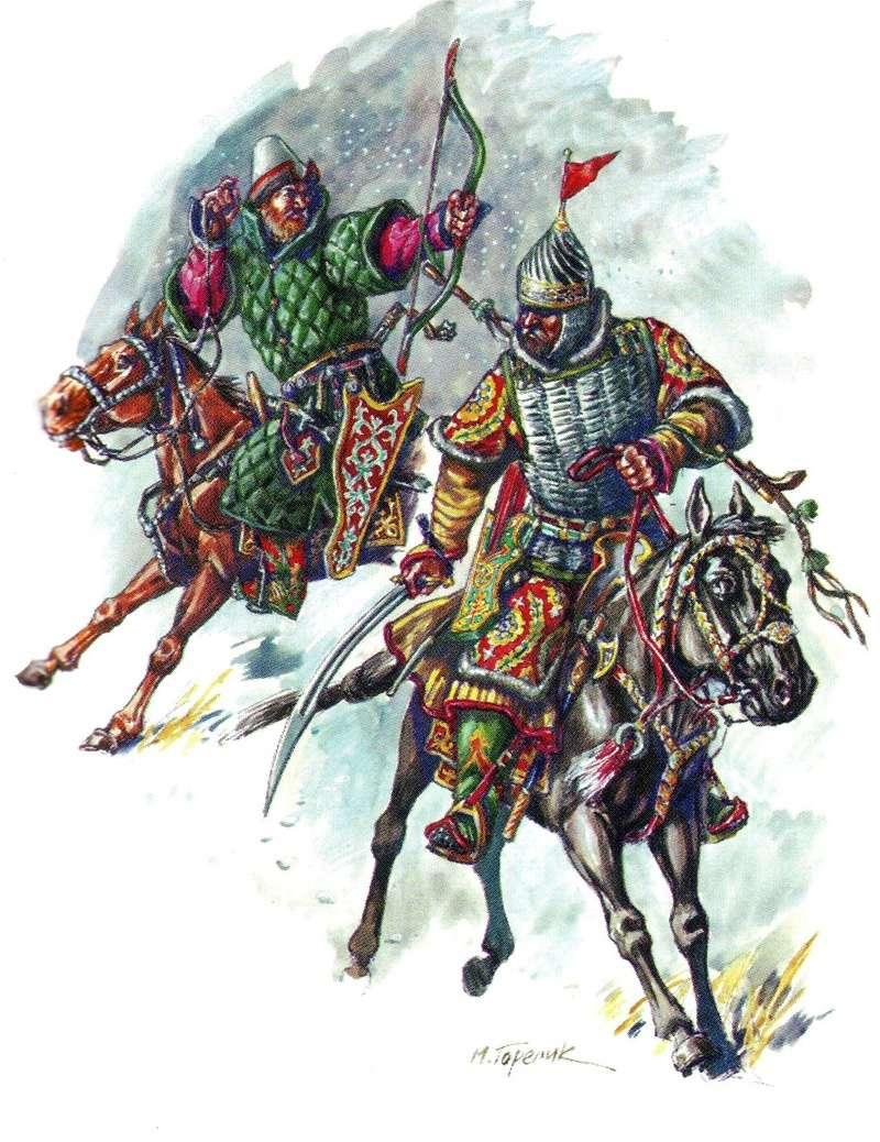 [Inspiration] Le Grand Déluge (Polonais , Tatars , Cosaques , Russes , Ottomans Circa 1650) Rus_gu11