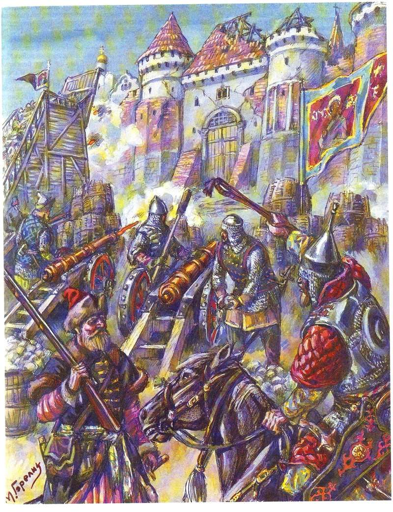 [Inspiration] Le Grand Déluge (Polonais , Tatars , Cosaques , Russes , Ottomans Circa 1650) Rus_si10