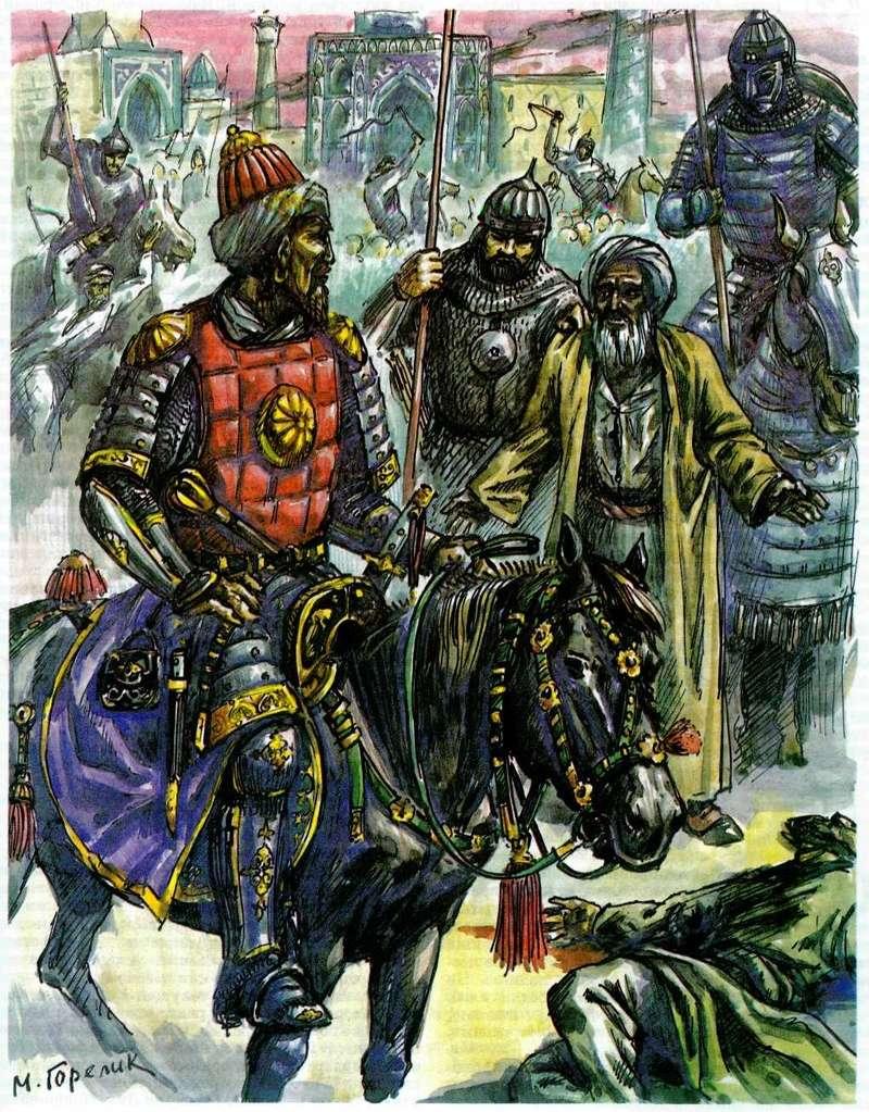[INSPIRATION] Les Mongols , Tamerlan , Babur Tamerl10