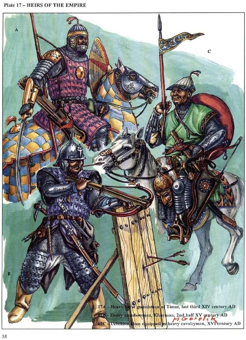 [INSPIRATION] Les Mongols , Tamerlan , Babur Timour10